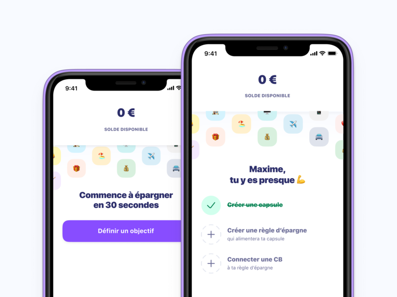 Activation Home  financial app