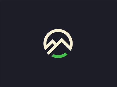 Logotype idea #01 logo m mountain