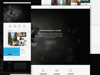 [Old stuff] Agence Vega - Homepage