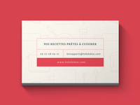 HebdoBox Business Card