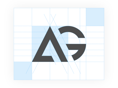 AG mockup real project brand wip logo