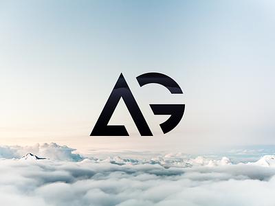 AG - The finished logo minimalist minimalism geometric g a logotype real project brand wip logo