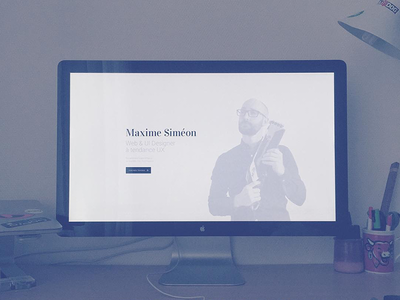 Little refresh of my personal website