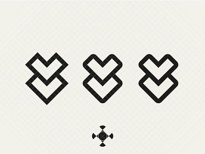 Logo Vectorization #WIP vectorization vector wip v sketch logo grid brand