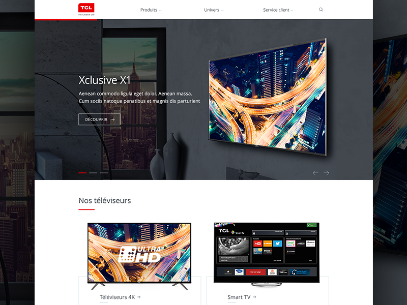 TCL — Refresh Homepage