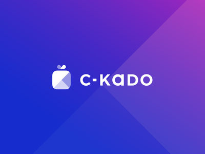 C-KADO, logo redesign gift branding brand logo