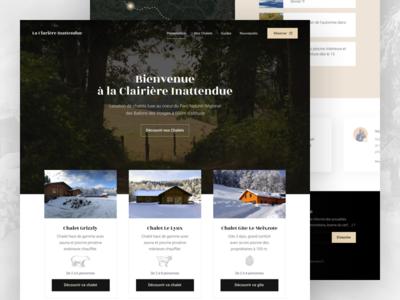 Cottage Rental Homepage Redesign