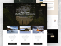 Cottage Rental Homepage Redesign