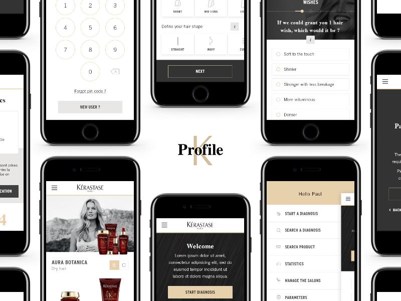 K Profile - App