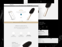 Hair Coach Landing Page - Desktop