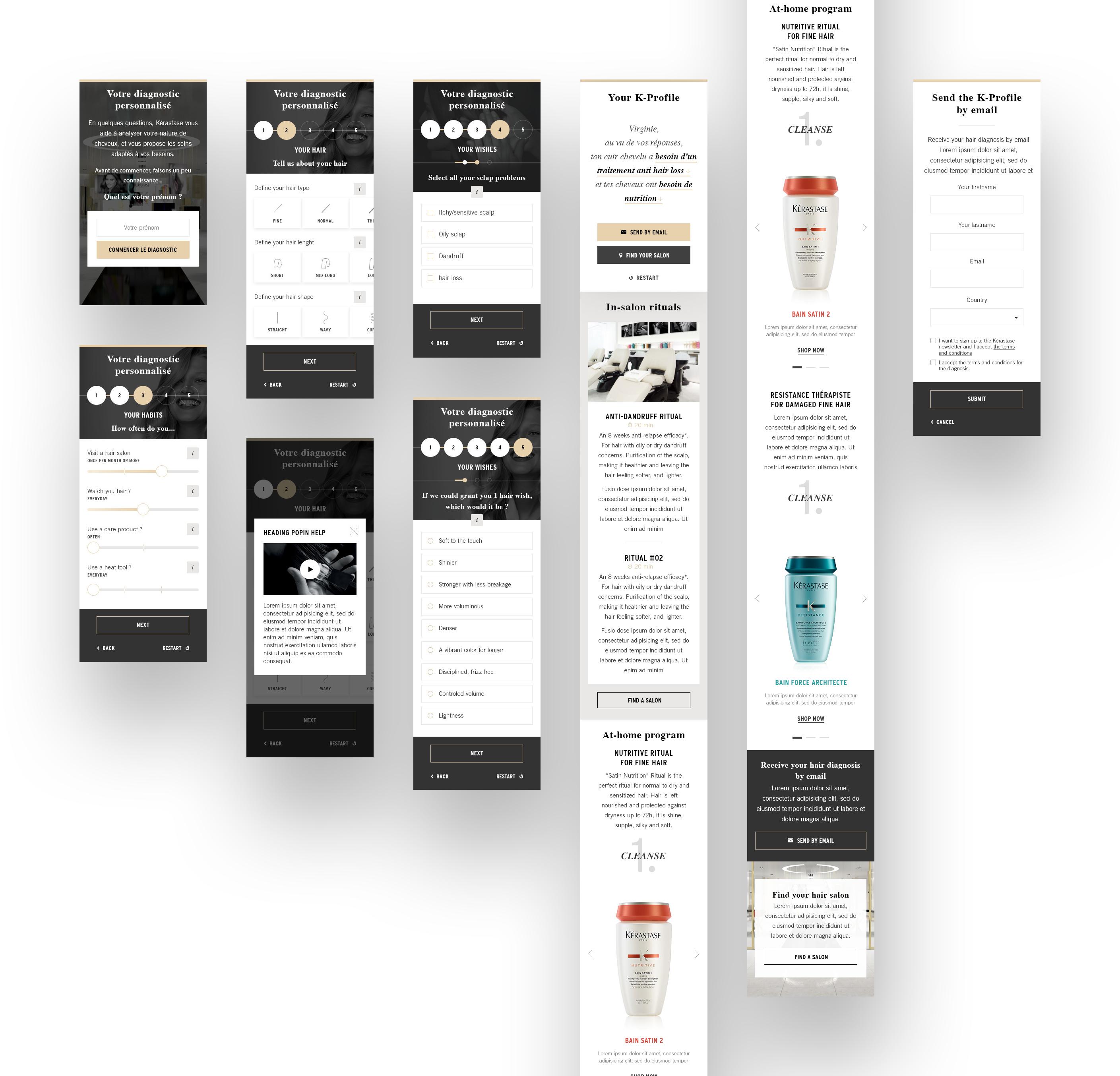 K profile widget  mobile