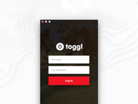 Redesign Toggl  💻   Start