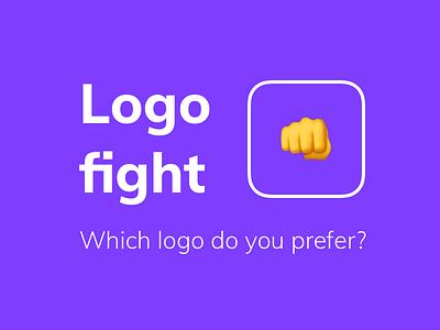 Logo Fight — Yeeld branding brand yeeld test testing ab fight logo