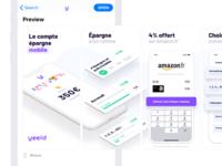 AppStore screenshots 📱👌 store app screenshots yeeld app