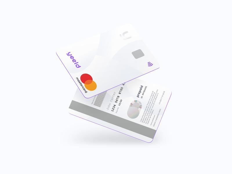 A New Yeeld Card  💳💜