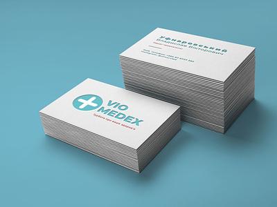 Logo for a private medical hospital vstrelets figma design figmadesign figma private medical hospital business cards business card business card design businesscard business logotype logos logodesign logo design logo