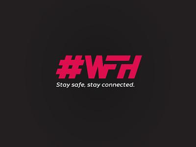 #wfh freelancer pandemic logo