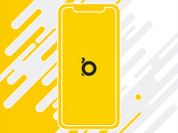 Podcast Application Exploration auto-animate adobe xd yellow boop animation cards podcasting albums