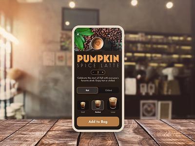 3D Transforms in Adobe XD auto animate adobe xd coffee app coffee shop coffee 3d presentation perspective