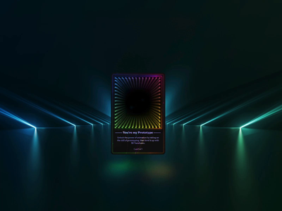NFT Card Exploration 3d transforms auto-animate animation adobe xd crypto card card animation animated card nft card nft