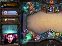 Hearthstone Stream Overlay Preview