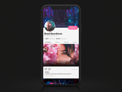 Mobile Scrolling Interaction – XD File Included iphone ux ui micro interaction timed trigger auto-animate animation interaction scrolling adobe xd