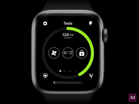 Tesla Apple Watch Concept