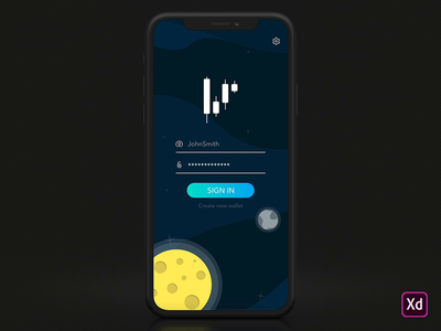 Crypto Wallet Sign in Interaction