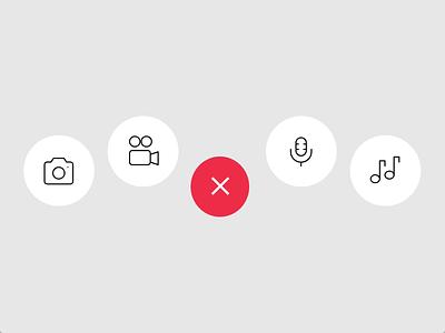 Morphing Navigation Bar animation adobe xd ui design animated navigation nav bar auto-animate tab bar navigation bar