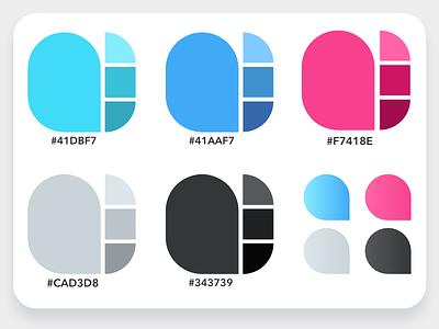 Design System: Colors gradients color pallete color swatch colors design system