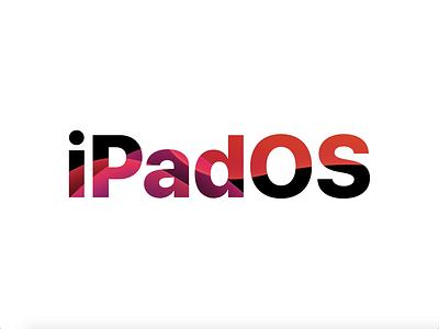 iPadOS Header Video animation masking text auto animate adobe xd wwdc ipados ipad