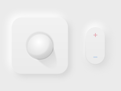 Soft UI Experimentation buttons uidesign
