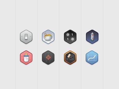 Hexes 32px icons icon quartz qc
