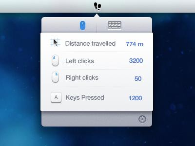 Footprints footprints menubar app mac osx