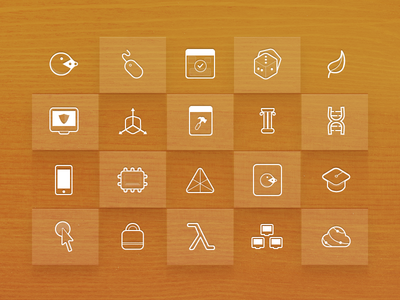 Icons for Modules