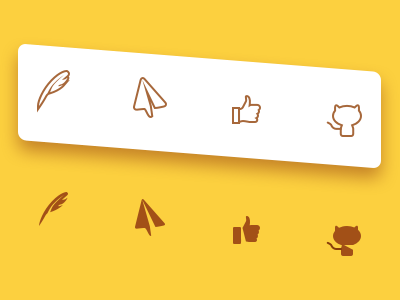 Footer Icons
