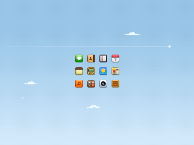 16px iOS Icons ios icons messages reminders iphone 16px 16