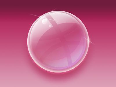 Dribubbble dribbble bubble