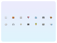 Ice Cream Icons (with PSD)