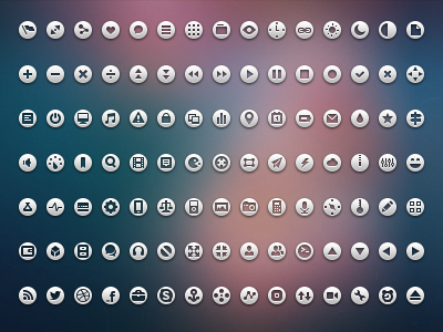 105 Loops (with PSD) loops icons iconset free download psd png 16px 16 glyphs