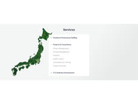 Brunel Japan - Services component