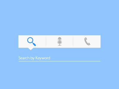Search | Voice Command | Call