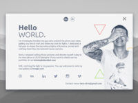 Card material design animation