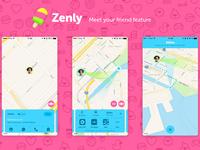 Zenly meet your friend feature