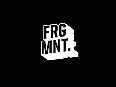 FRGMNT. Logo redesign logolounge dj branding brand electronic redesign edm music logo frgmnt