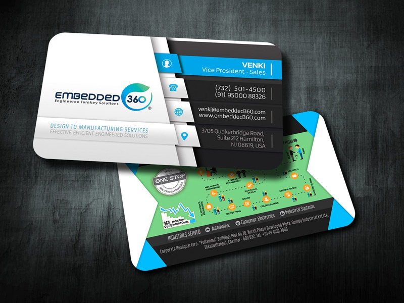 Business Card by Madhan - Dribbble