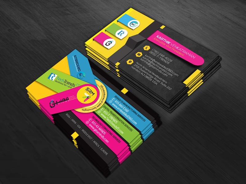 business card designmadhan on dribbble