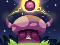 Glowing Mushroom Demon
