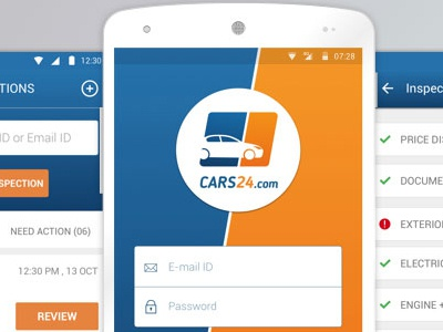 Inspection App For Cars24 By Alok Kumar On Dribbble