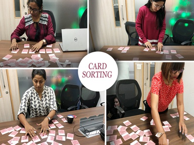 Card Sorting for defining Information Architecture